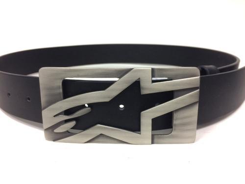 bd1f0ca75 Cinturón Alpinestars de piel color Titanium-negro talla S   Folch ...