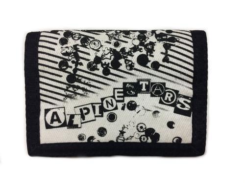 Billetero de tela con decoración Alpinestars