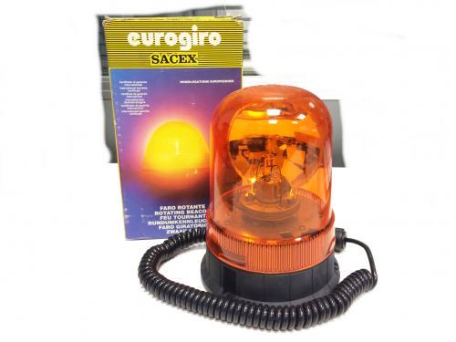 Faro rotativo magnético 24V Sacex Sirius