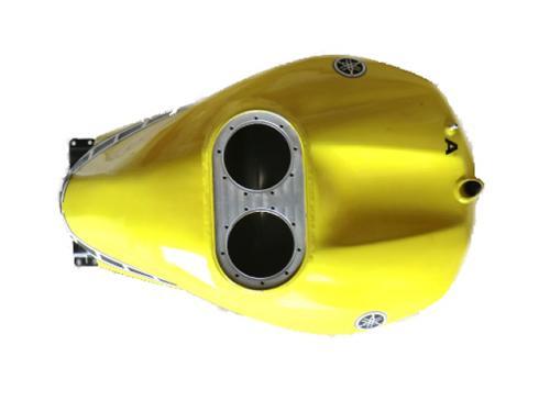 Depósito de combustible de aluminio para R1 24L 2007-2008. Usado.