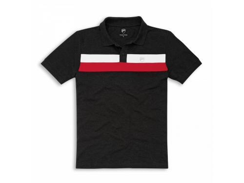 Polo manga corta D Stripes