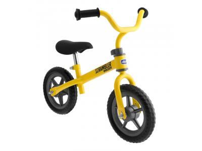 Bicicleta Scrambler balance