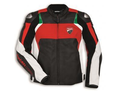 Chaqueta de piel Ducati Corse C3