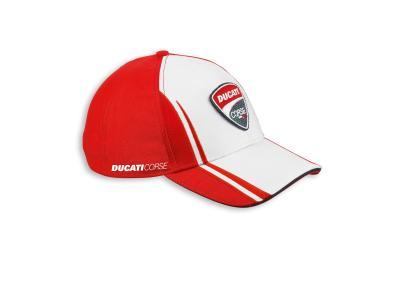 Gorra Ducati Corse 14. Rojo