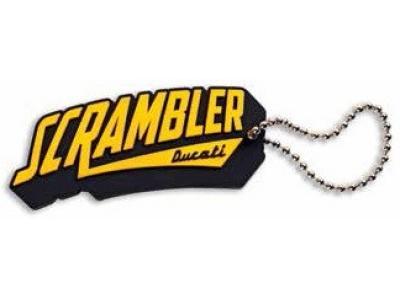 Llavero de goma Scrambler