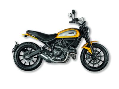 Miniatura Ducati Scrambler