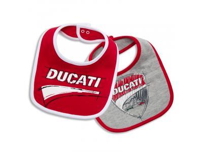 Jgo. de 2 baberos Ducati Corse