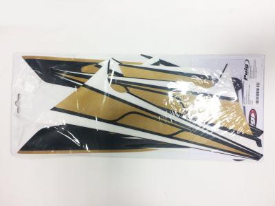 Jgo. Calcas Yamaha Tmax530'12-15 c/oro-negro