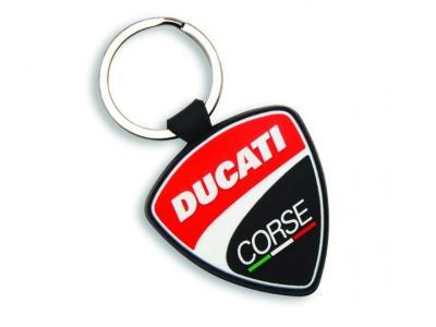 Llavero de caucho Ducati Corse