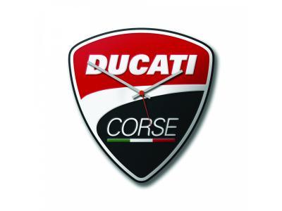 Horloge murale Power Ducati Corse 28x30 cm