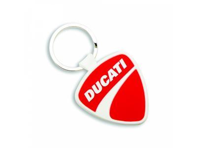 Llavero de goma Ducati Shield