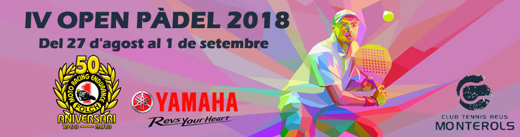 IV Open Pàdel 2018